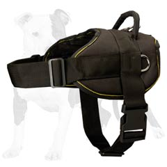 Perfect for tracking work dog harness