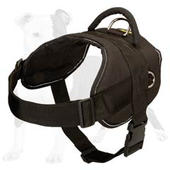 Professional pulling dog harness