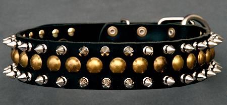 handmade leather dog collar for Training