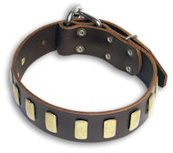 Handmade Leather Dog Collar For Large and Medium Breeds-Dog Supplies