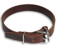 Best economic solution leather dog collar for all breeds-Dog Supplies