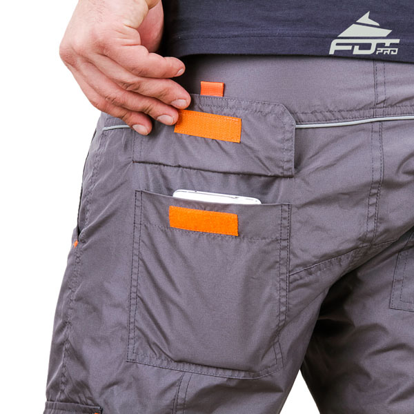 Convenient Design FDT Pro Pants with Handy Back Pockets for Dog Trainers