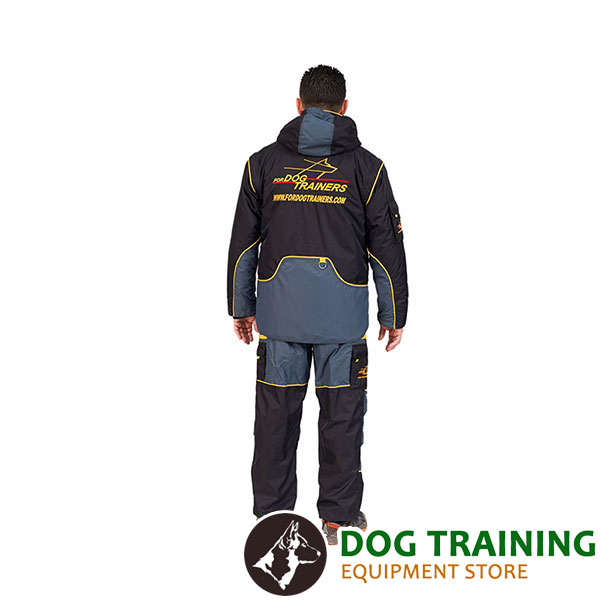 Train your Pet in Light and Extra Strong Dog Bite Suit