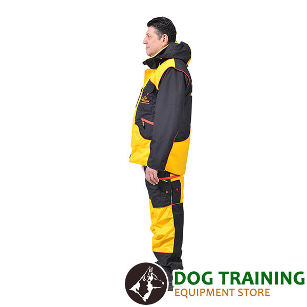 Perfect in Convenience and Protection Dog Training Bite Suit for Comfy Workout