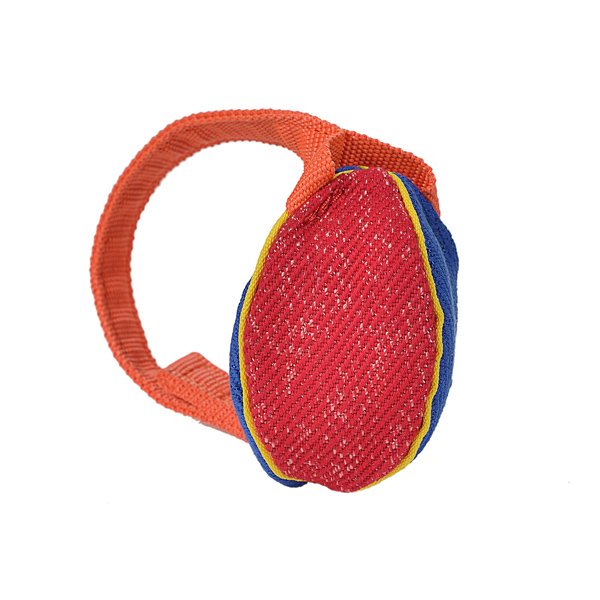 Colorful Design Extra Small French Linen Bite Tug for Training and Playing