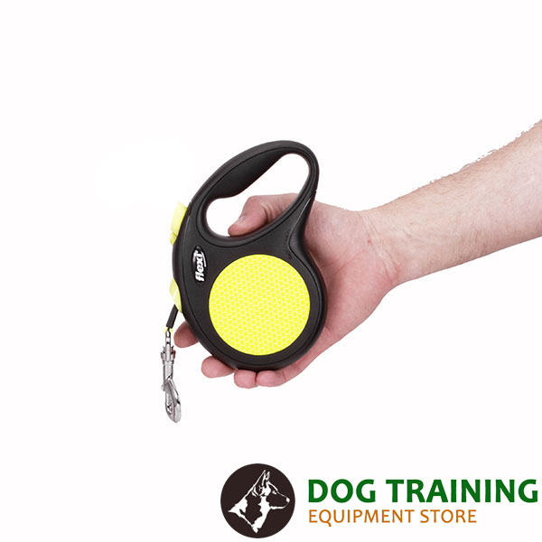 Everyday Use Retractable Leash Neon Style for Total Safety