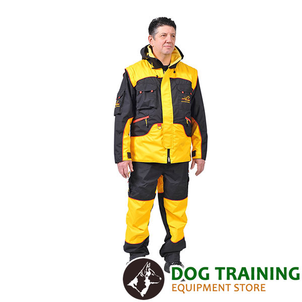 Professional Training Suit of Wind Resistant Membrane Material
