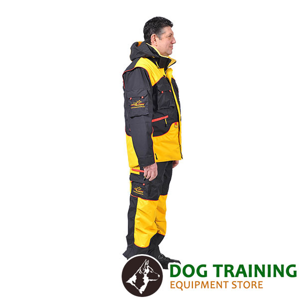 Comfortable Dog Training Suit with Several Pockets
