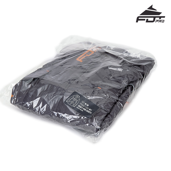 FDT Pro Dog Trainer Jacket with Best quality Velcro Patches