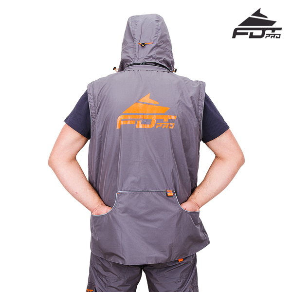 Strong Dog Trainer Suit of Grey Color from FDT Pro