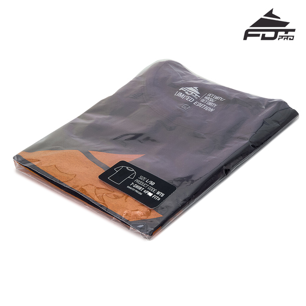 Packed FDT Professional T-shirt of Dark Grey