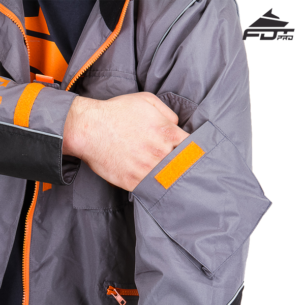 Reliable Sleeve Pocket on FDT Pro Design Dog Trainer Jacket