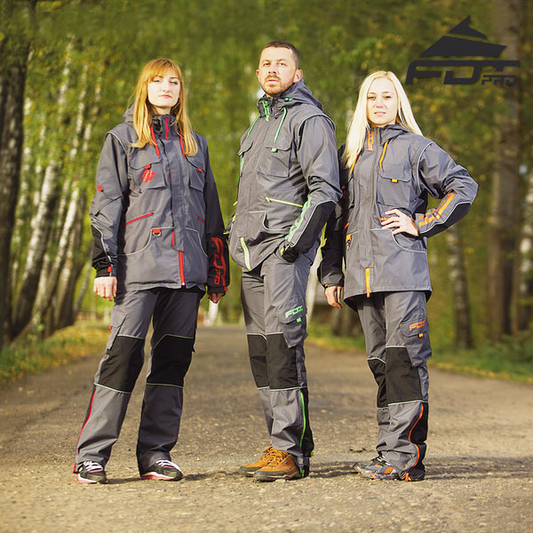 Durable Dog Training Suit for Any Weather Use