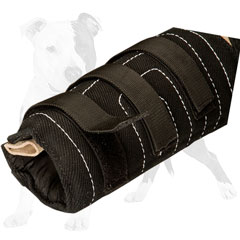 Protective bite dog sleeve for heavy-duty training