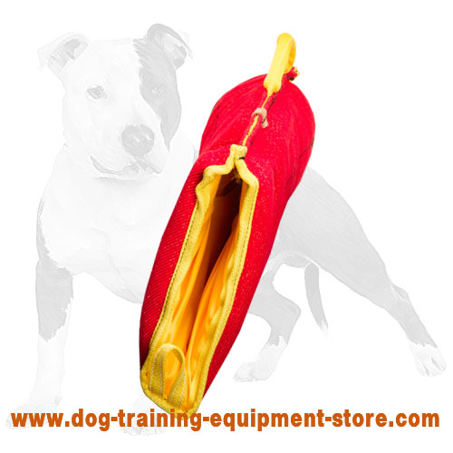 Dog Training Bite Sleeve French Linen Material Ps2f 1064