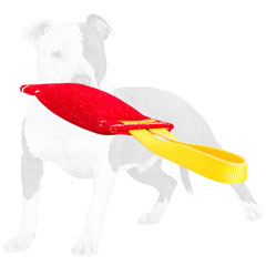 Easy to handle bite tug for dog training