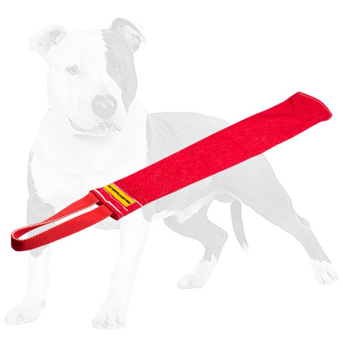 Lightweight French Linen dog bite rag for training your pet