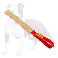Reliable   bite tug for puppy training with handle