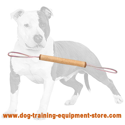 Jute roll for young dogs