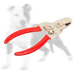 Reliable dog trimmer with vinyl handles