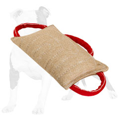 Durable jute dog pad for training