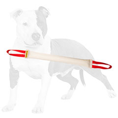 Easy to hold bite tug for dog training